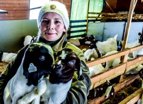 NYTT TILBUD: Thale Hoff er én av 60 lokale bønder som har kastet seg på en ny trend. Arkivfoto: Joachim Constantin Høyer