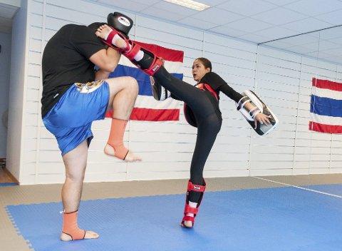Gründer: Chutima Olsson fra Ørje startet Askim Muay Thai Gym. Arkivfoto: John Petter Nordbø.