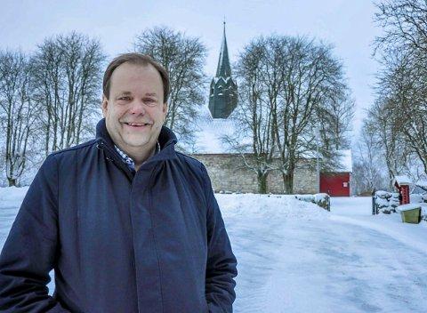 Rune Johansen er kirketjener i Skiptvet. I 2018 sto han oppført med dobbelt så høy inntekt som presten.