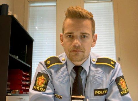 Etterforskningsleder Christer Christoffersen.