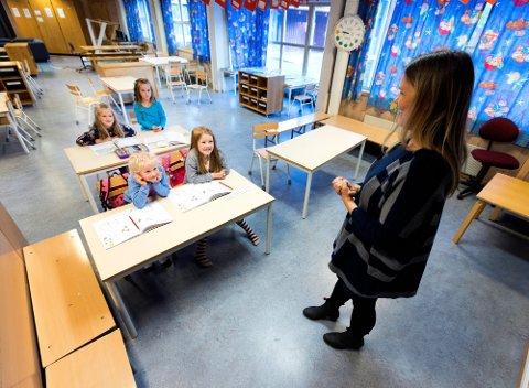 KREVENDE: Koronaåret har vært utfordrende for lærerne.