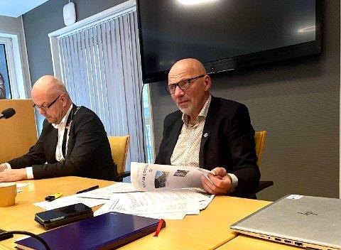 VIN INNFØRA AVGIFTSPARKERING: – Me kan ikkje byggja oss ut av eit aukande behov for parkering. Me kan få ned behovet ved å bruka avgiftsparkering, seier Stig Stark-Johansen.