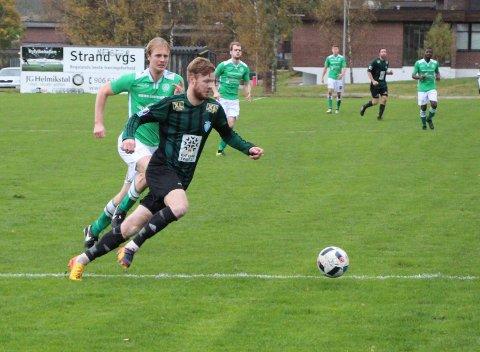 Even Østensen gjorde jobben sin mot Ørn Horten og sørgde for poengdeling i den første kampen for sesongen.