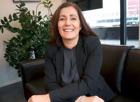 BANKSJEF: Mona Torsteinsen er banksjef i Danske bank Telemark.