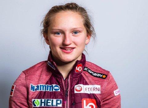 KLAR FOR VM: Heidi Dyhre Traaserud er klar for VM etter at  forbundet tok henne ut som femte hopper i jentenes tropp. Fire av dem får hoppe.