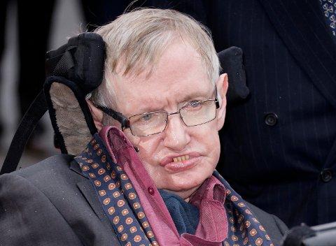 Stephen Hawking ble 76 år gammel, han levde mesteparten av livet med sykdommen ALS.