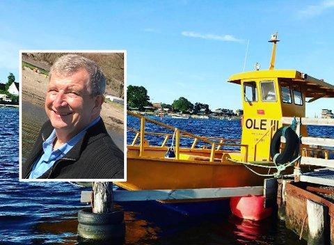 TATT OVER SKUTA: Terje Salvesen (innfelt) har vært skipper på Ole III i fire sesonger. Nå har han kjøpt båten.
