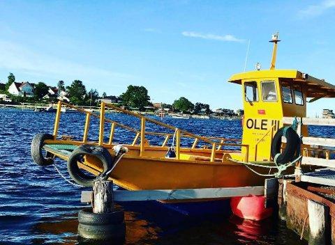 NY SESONG: Det blir ny sesong for ferjen Ole III - og den starter allerede 11. mai.