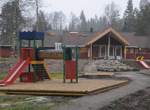Den kommunale barnehagen på Vegårshei har to avdelinger. Dette er avdelingen i Myra. Arkivfoto.
