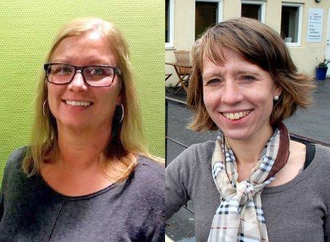 SØKT: Eirunn Bjørkheim (t.v.) og Guro Jemterud Solberg er blant søkerne til HR-stillingen.