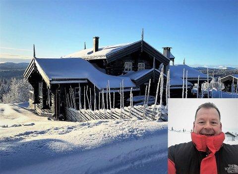 Økte kostnader: Bernt Brevik (innfelt) er hytteeier i Etnedal, og klagde på det nye takseringsgrunnlaget som nesten fordoblet eiendomsskatten hans til kommunen.