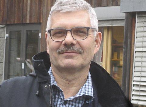 BEGYNNER I MARS: Einar Georg Nilsen fra Fredrikstad tiltrer i stillingen som bygningssjef 1. mars 2019.