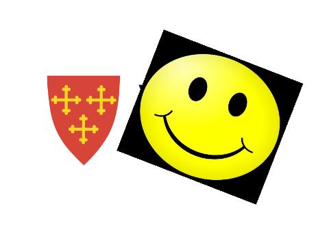 SMIL I HELE VESTBY: Kommunens serveringssteder har fått samme karakter fra Mattilsynet: Et stort smilefjes.