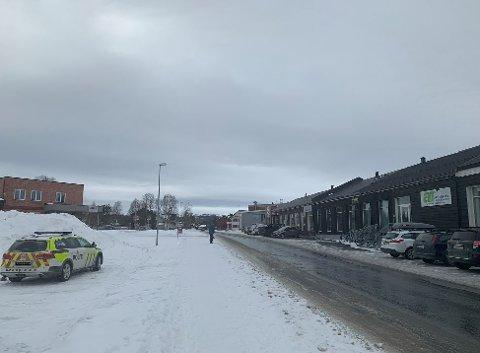 Påkjørselen skjedde i Tollef Bredals vei.