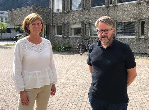 Innstilling: Kommunedirektør Randi Dyrnes og økonomidirektør Bjørn Flemmen Steinland.