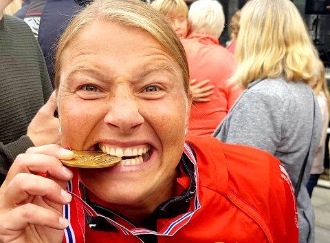 Gro Thomassen fikk gull å bite i.