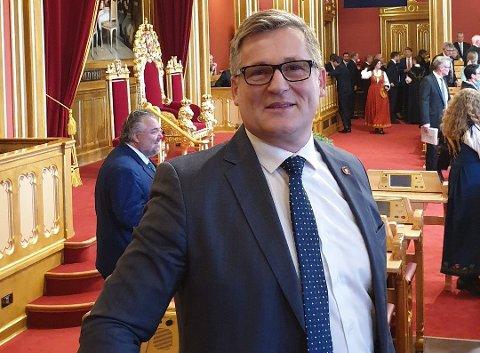 STØRRE ØKONOMISK RAMME: Dagfinn Olsen og Frp ønsket å legge mer penger på bordet da NTP ble behandlet i Stortinget i midten av juni.