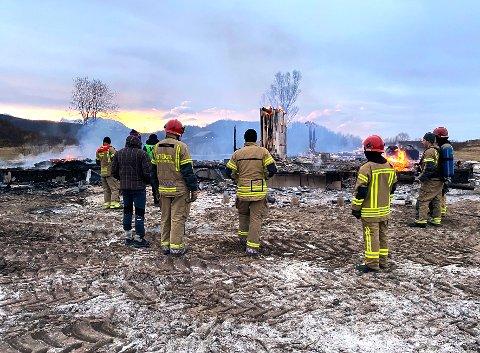 Ingen oppdrag: Brann- og redningstjenesten i Hamarøy og Steigen har ingen oppdrag inn mot helsetjenesten.