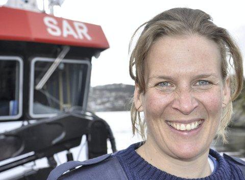 Til daglig er hun overstyrmann på redningsskøyten «Kristian Gerhard Jebsen», men i fjor høst reiste Kari Dahl til Sør-Amerika for å seile på en balsaflåte til Påskeøya. (Arkivfoto: Dag Bjørndal)