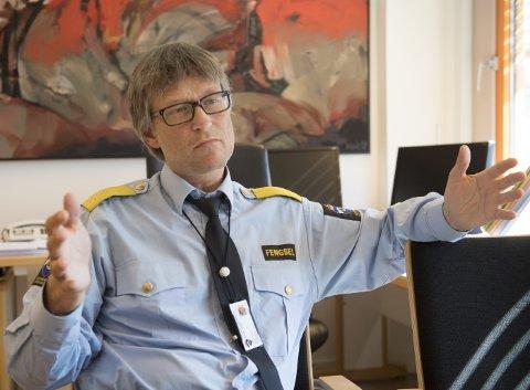 Harald Åsaune har vært ansatt som midlertidig leder for Bergen fengsel siden februar i fjor. Etter en lang ansettelsesprosess, er han nå fast ansatt som fengselsleder.