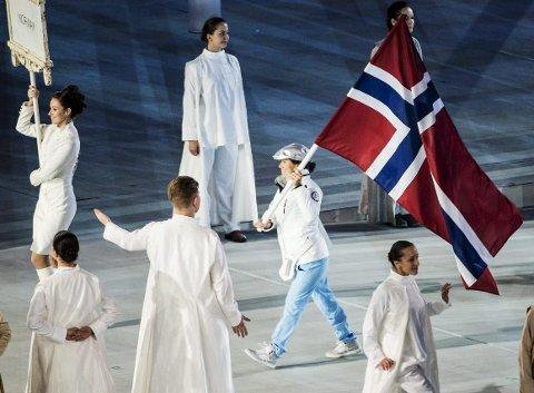 Tidligere langrennsløper og svømmer Mariann Vestbøstad Marthinsen har mange gullmedaljer å vise til. Under Paralypics i Sotsji var 33-åringen norsk flaggbærer på åpningsseremonien. ARKIVFOTO: NTB scanpix