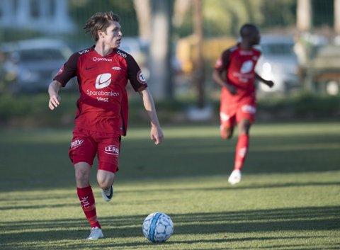 Kasper Skaanes har helt siden sesongslutt i fjor vært helt klar på at han har ønsket seg videre, for å få mer spilletid. Nå går han til Start for 2,5 millioner. Foto: Arne Ristesund