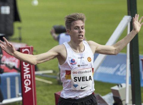 Per Svela, her i sitt «rette element» på bane, fikk ingen god opplevelse i EM i terrengløp. Arkivfoto: NTB Scanpix