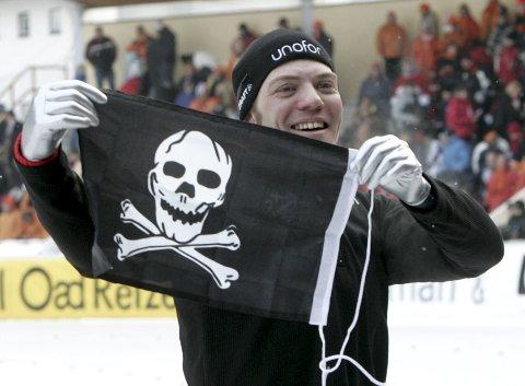 Etter den overraskende seieren i VM for 14 år siden, feiret Rune Stordal med et sjørøverflagg! Nå er tre nye bergensere på tokt i Tyskland.