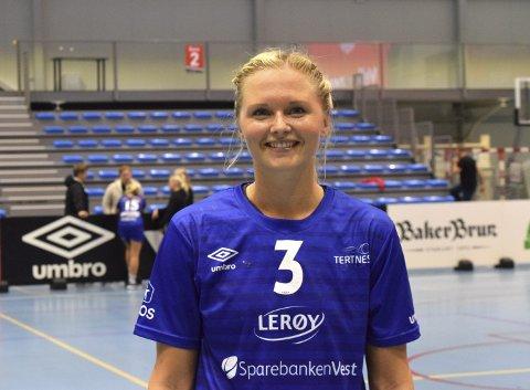 Birgitte Karlsen Hagen (25) er tilbake i Tertnes etter et mislykket opphold i Danmark. Foto: Stine Christensen