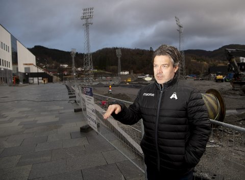 Daglig leder I Åsane, Gorm Natlandsmyr, kan glede seg over at klubben har suksess både på banen og på kontoret.
