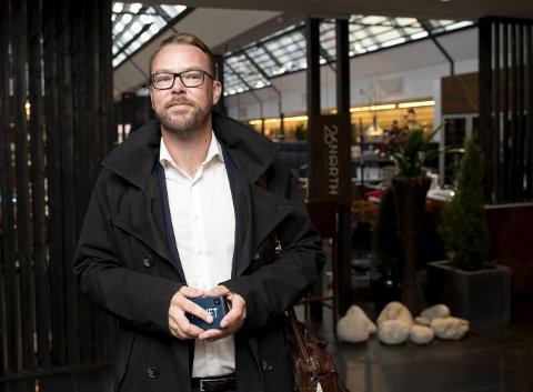 Høyres gruppeleder i bystyret, Harald Victor Hove, støtter planene om Bergen Sommerpark, og vil at kommunen skal gi penger til prosjektet gjennom krisepakken. FOTO: SKJALG EKELAND