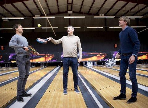 Idrettsprofilene Thor Hushovd, Jan Kvalheim og Bjørn Maaseide skal åpne et padeltennis-senter i de tidligere bowling-lokalene på Sandsli i mars. De er i forhandlinger om å åpne også to andre senter i Bergen i løpet av året.
