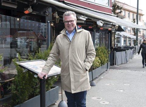 – Vi tror og håper at vi kan utvide skjenkearealet vårt ute, både på Scruffy Murphy's, Harbour og Pacific, sier konsernsjef Jan Petter Eilertsen i Bergen Harbour Group.