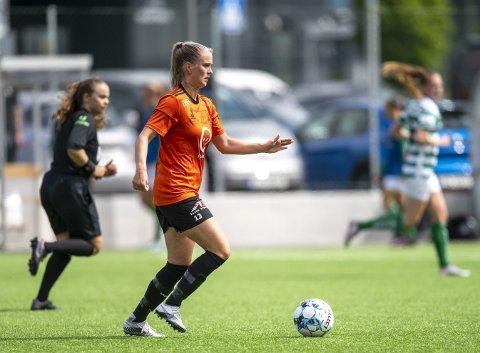 Midtbanespiller Ida Kroken skal ut i praksis og har fått plass i Ålesund. FOTO: EMIL WEATHERHEAD BREISTEIN