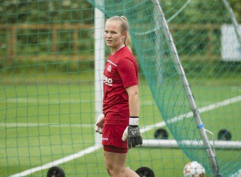 Oda Bogstad ville ikke si hva hun tenker om at Sandviken har hentet landslagets andrekeeper.