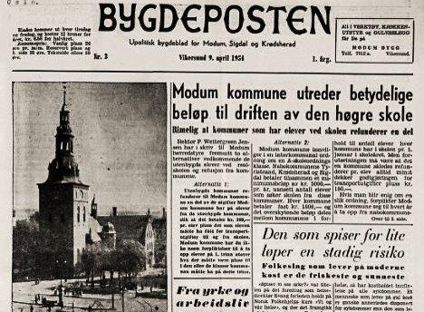 MYE Å LESE: Riksbiblioteket og Amedia tilbyr nå alle å lese gamle aviser fra Bygdepostens arkiv på Nasjonalbibliotekets nettsider.