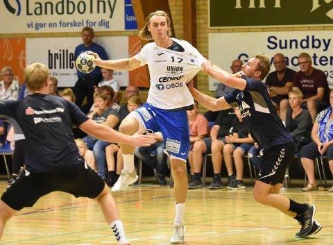 MÅ STÅ FRAM: Thomas Boilesen er en av de spillerne som må stå fram skal DHK være et vinnerlag i år. Onsdag kveld er det NM-kamp på Notodden.
