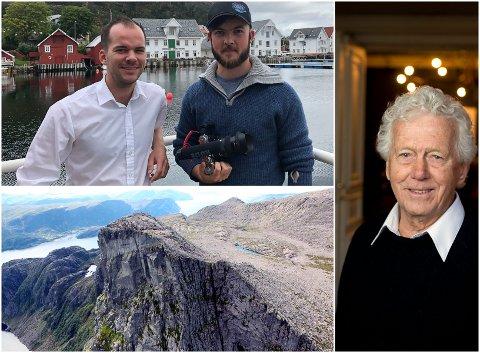 Jan Fredrik Fosse i Knutholmen skal jobbe saman med filmskapar Ian Aannevik og skodespelar Toralf Maurstad for å lage sakte-TV og film frå Hornelen.