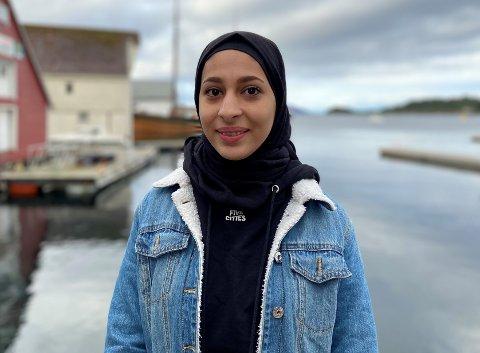 FILMSKAPAR: Shahed Alali har laga film om korleis det er å vere flyktning. Den handler ikkje berre om ho sjølv, men om alle flyktningar. FIlmen ser du på firdaposten.no