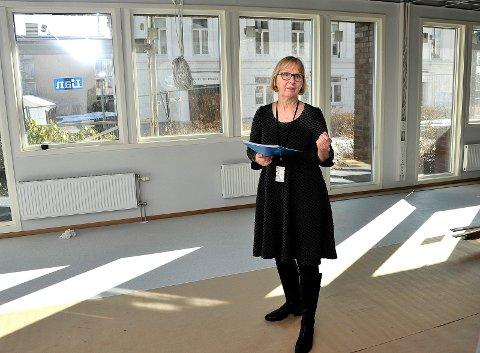Vil etablere Fredrikstadklinikken:  Irene Dahl Andersen har gjennomført en tilsvarende samling i Sarpsborg, i de tidligere lokalene til Østfold Energi, hvor dette bildet er tatt. (Arkivfoto: SA)