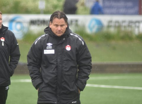 Mjølner-trener Håvard Hatle.