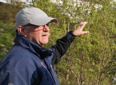 DIREKTØR: NVE søker etter en ny direktør for skred og vassdragsavdelingen. Regionsjef for NVE i Nord-Norge, Knut Aune Hoseth, er glad det åpnes for at den nye direktøren kan få kontorsted i Narvik eller på et av de andre regionkontorene. Arkivfoto: Vilde Øines Nybakken