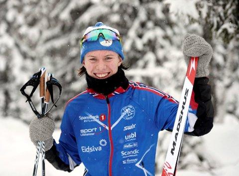Johannes Staune Mittet sørgert for å gå helt til topps i M17 under sesongåpningen i norgescupen for junior på Konnerud.