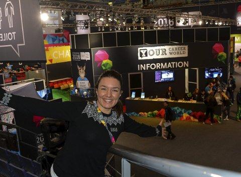 Learn & Share: Linda Jacobsen er stolt av hva hun og de andre i learn & share-programmet har fått til under Ungdoms-OL.