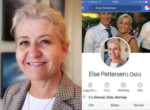 STJAL BILDER: Da Hilde Sørlie oppdaget at profilbildene var stjålet, tok hun umiddelbart kontakt med Facebook.