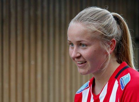 KLAR: Anna Jøsendal har slitt en del med skader i det siste, men regner  elv med å være klar til søndagens serieavslutning som blir helt avgjørende.