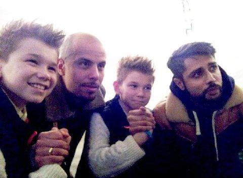 BESØK: Sist Carpe Diem var i Mosjøen holdt de konsert og spiset midddag med Marcus og Martinus. Denne gangen kommer de i form av en ny film.