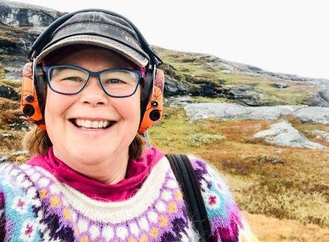 GLEDE OVER VEDTAK: Siv Mossleth (Sp) er svært fornøyd med at Stortinget har vedtatt en politimelding som gir grønt lys for nasjonal våpenforvaltning i Mosjøen, med register i Brønnøysund.