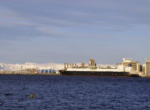 Melkøya i Hammerfest. ILLUSTRAJSONSFOTO: Svein G. Jørstad