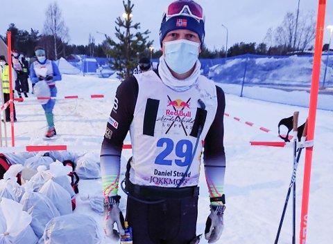 Daniel Strand gikk inn til en 3.plass i Red Bull Nordenskiöldsloppet